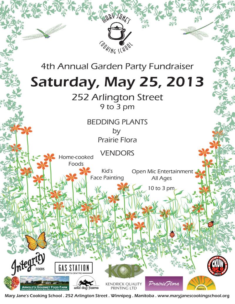 Spring 2013 JUST Community Market Cooperative